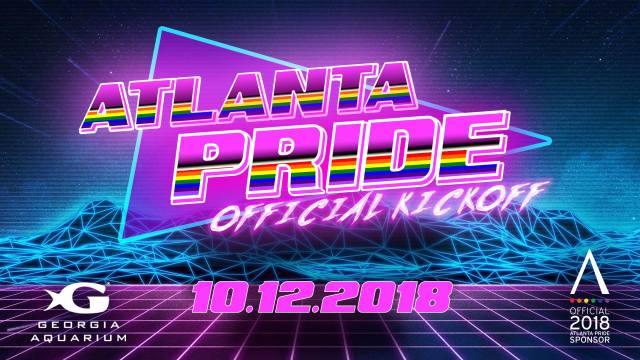 Atlanta Pride 2018 Aquarium Poster